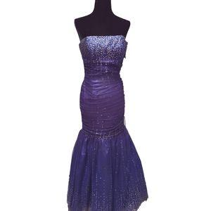 Jessica McClintock   Mermaid Formal/Prom Dress